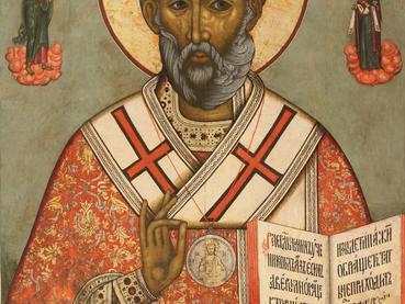 Traslado de las Reliquias de San Nicolás de Myra el Milagroso