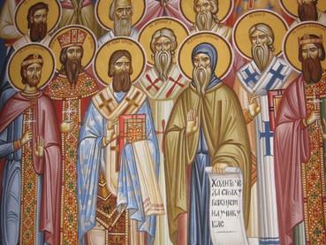 Santos Pontífices de Serbia
