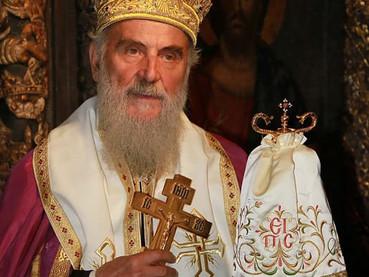 Transmisión en vivo de los Funerales del Patriarca de Serbia Irinej