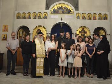 Último día de la visita canónica del Metropolita Amfilohije: recepción en la Iglesia Ortodoxa Rusa y