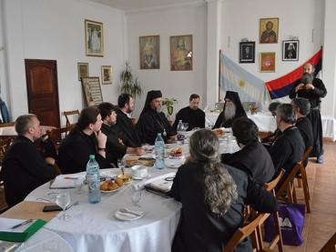 Se llevó a cabo la 1° Reunión del Clero de la Diócesis