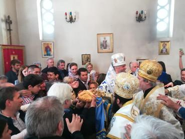 Festiva celebración en Buenos Aires, de los 800 años de laFundación de la Iglesia Ortodoxa Serbia, l