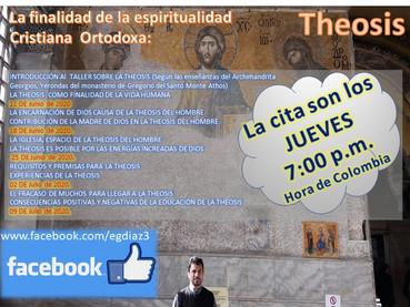 Taller sobre espiritualidad: La Theosis