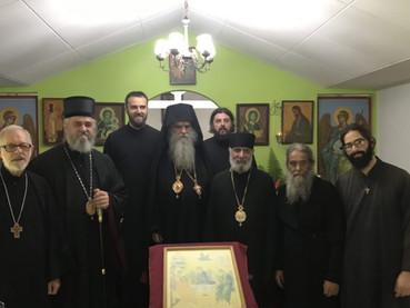 El Metropolita Amfilohije y el Obispo Kirilo arribaron a Brasil