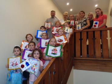 Божићна дечја радионица у парохији Светог Николаја Жичког у Сантјагу де Чиле