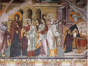 Presentación en el Templo de la Santísima Virgen María