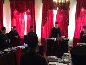 El Concilio de Obispos continúa en Belgrado con su agenda