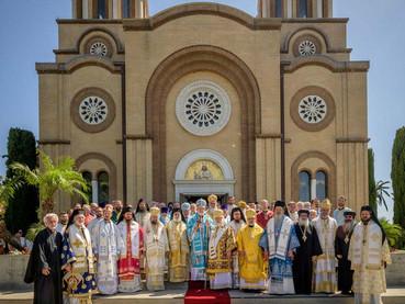El Obispo Kirilo participó en California de la Celebración por los 800 años de la Autocefalía de la