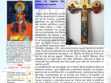 Boletín, Domingo posterior a Teofanía