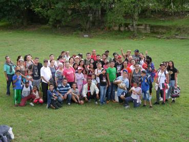 Celebración del día de la familia Colombia