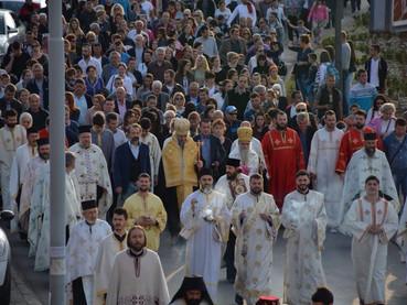 El Metropolita Amfilohije y el Obispo Kirilo presidieron la Procesión en honor a San Marcos, por la