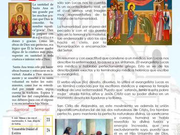Boletín, Domingo 27 después de Pentecostés