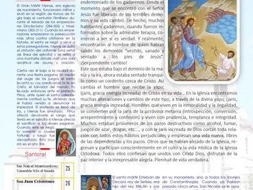 Boletín, Domingo 23 después de Pentecostés