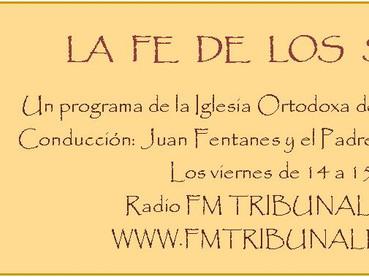 """LINK DEL NUEVO                       PROGRAMA RADIAL """"LA FE DE LOS SANTOS"""" - REPORTAJE AL"""