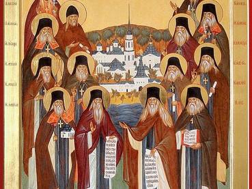 Oración de los Santos Padres de Óptina