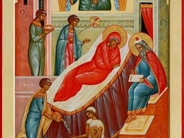 Nacimiento del Venerable y Glorioso Profeta y Precursor Juan Bautista