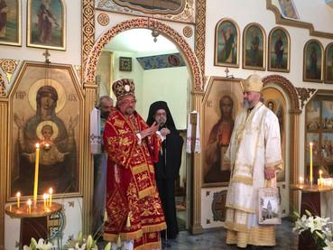 El Obispo Kirilo participó de la Celebración del 70º Aniversario en la Iglesia Ortodoxa Ucraniana en