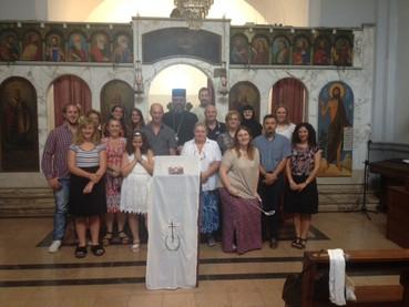 Rosario: Divina Liturgia Pontificia y Confirmación en la Fe Ortodoxa de descendientes de montenegrin