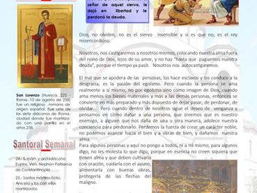 Boletín, Domingo 11 después de Pentecostés