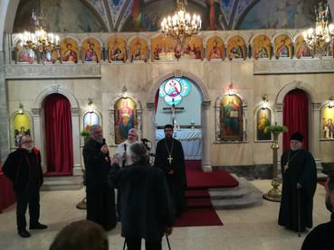 Visita a la Iglesia del Patriarcado de Antioquía