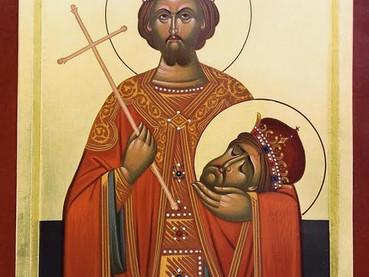 San Juan Vladimir, Rey de Serbia