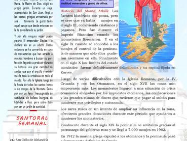 Boletín Dominical, 2do Domingo después de Pentecostés
