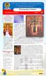 Boletín dominical, Domingo anterior a la Exaltación de la Santa y Vivificadora Cruz