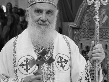 Reposó en el Señor Su Santidad Irinej, Patriarca de Serbia - ¡Memoria eterna!