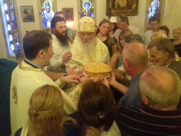 Se celebró el día de San Sava en la Iglesia Serbia en Buenos Aires