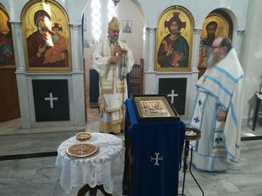 Divina Liturgia Episcopal con el Obispo Kirilo, y posterior charla del Padre Theophylact sobre la vi