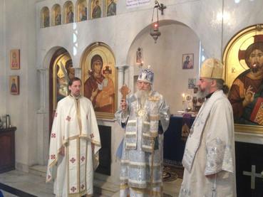 Visita del Obispo Juan (ROCOR) en la Fiesta Parroquial de la Catedral
