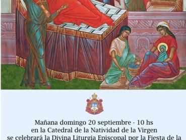 Mañana Slava de la Catedral de la Natividad de la Virgen