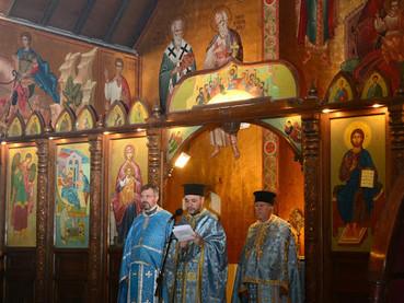 Прослава у цркви Рођења Пресвете Богородице Антиохијског патријархата у Сантјагу де Чиле