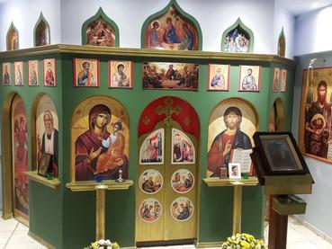 Nuevo Iconostasio y Campana en la Misión en Guayaquil, Ecuador