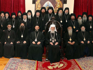 El Obispo Kirilo viajó a Montenegro para participar del Concilio de Obispos de la Iglesia Ortodoxa S