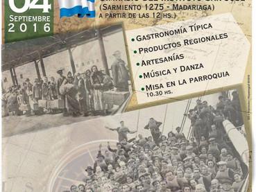 Se realizó en Madariaga la 2° edición de la Feria de las Colectividades: CRISOL DE RAZAS