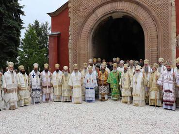 Fotos del Santo Concilio de Obispos de la Iglesia Ortodoxa Serbia