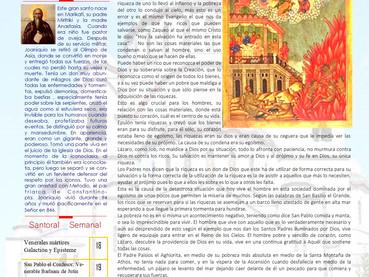 Boletín. Domingo 22º después de Pentecostés