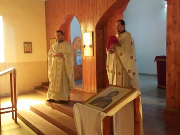 Iglesia San Miguel Arcangel en Venado Tuerto - Responso por los 40 días del fallecimiento de Milka G
