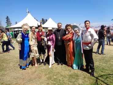 """Festival """"Fiesta de las Naciones"""" fue celebrada en Malloco, Santiago de Chile."""