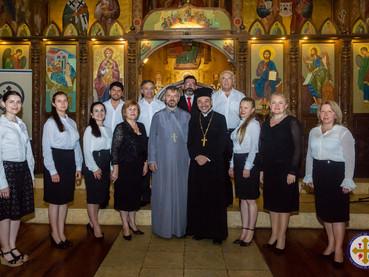 Додела сведочанстава дипломцима Православног института Св.Игњатија Богоносца у Сантјаго де Чиле