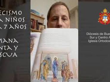 video charla de Catecismo para niños: Semana Santa y Pascua -