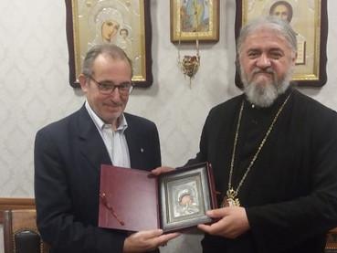 El Obispo Kirilo se reunió en Podgorica con el Embajador Argentino para Serbia y Montenegro Estanisl