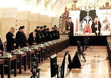 Ayer 25 mayo se llevó a cabo la primera sesión del Concilio de Obispos de la Iglesia Ortodoxa Serbia