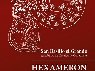 Este domingo 12 Noviembre: Presentación del Libro HEXAMERON  —  Homilías Sobre los Seis Días de la C