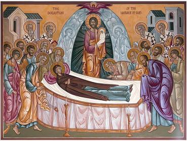 La Dormición de la Santísima Madre de Dios y Siempre Virgen María