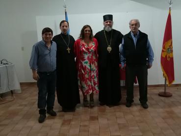 Fotos de la celebración de Año Nuevo según el Calendario Juliano, con el Obispo Kirilo en la Socieda