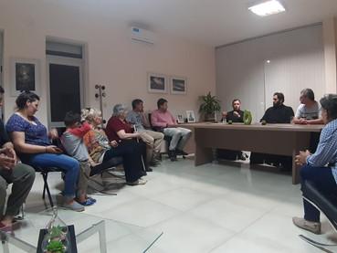 Hieromonje del Monasterio de Ostrog dio una disertación en la Intendencia de Arias (Prov. Córdoba)
