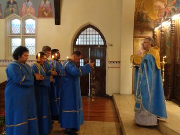 Crece nuestraParroquia Ortodoxa San Nicolás de Serbia en Santiago, Chile
