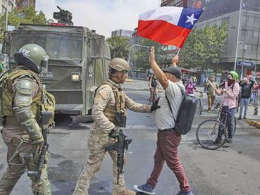 Oración por la Paz, para rezar por el sufrido pueblo de Chile